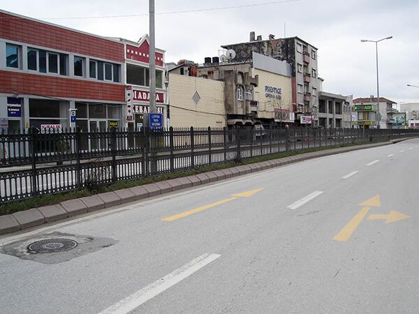 Adapazarı Belediyesi Plastik Ferforje Uygulaması